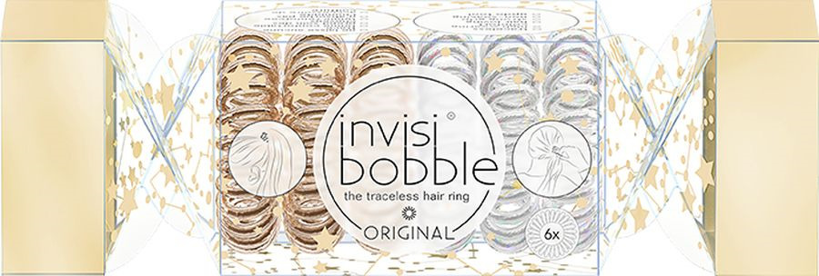 Резинка-браслет для волос Invisibobble Original The Wonderfuls Duo Cracker, 6 шт cracker