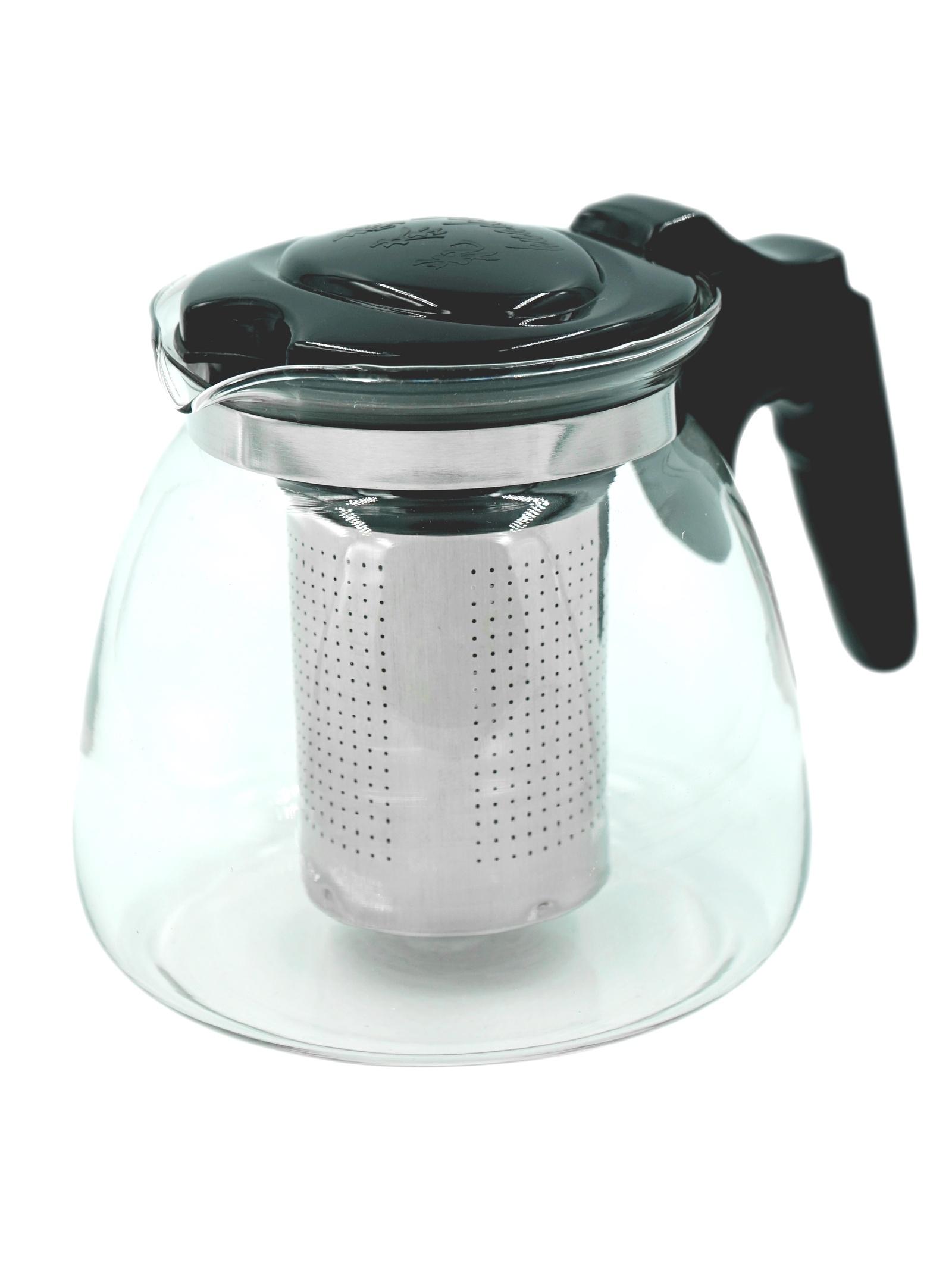 Фото - Чайник заварочный Коралл 967694 стеклянный чайник teo 1 25 л с ситечками для заваривания
