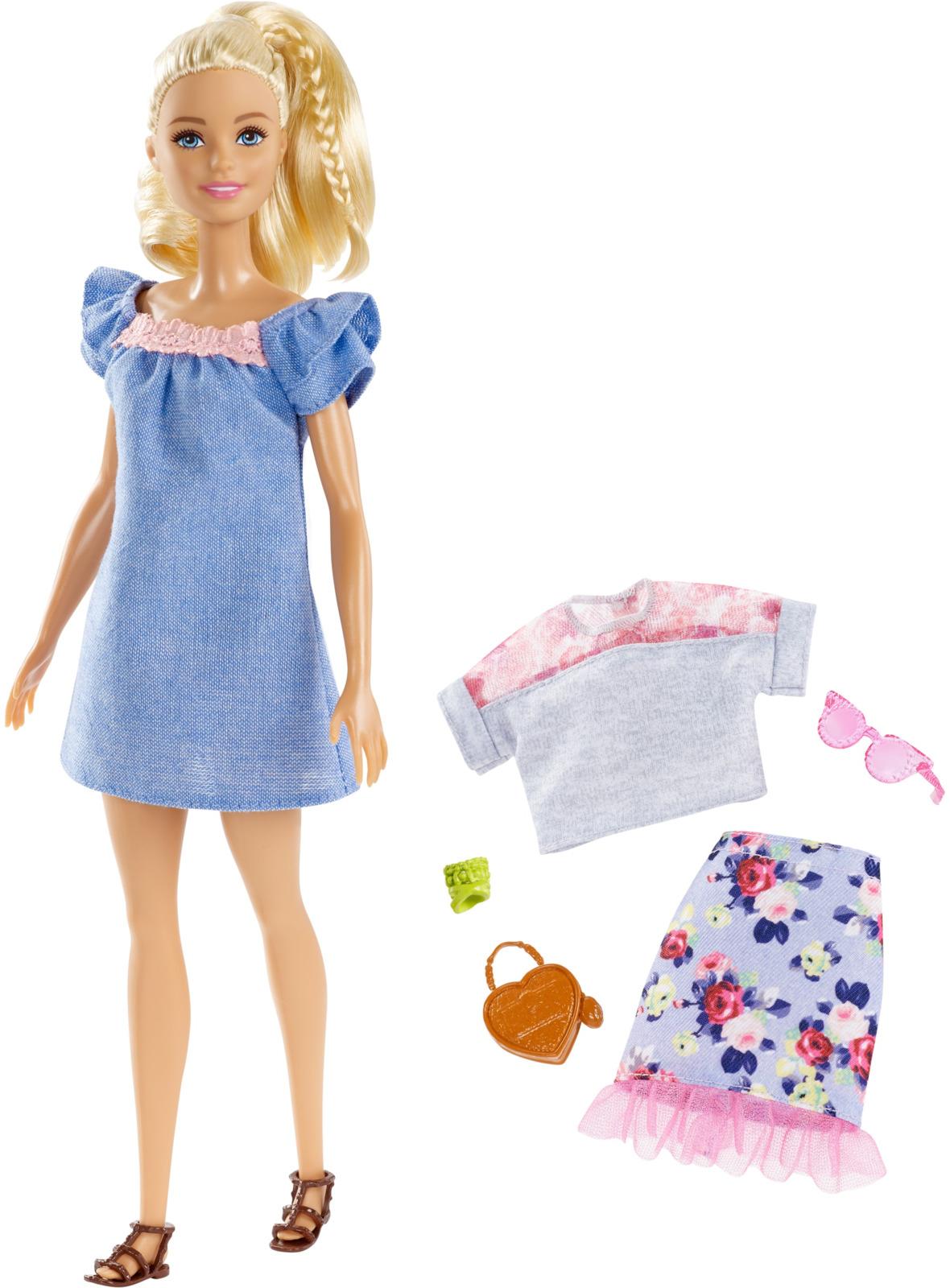 Фото - Barbie Кукла Игра с модой FJF67_FRY79 mattel кукла из серии игра с модой pretty in python barbie