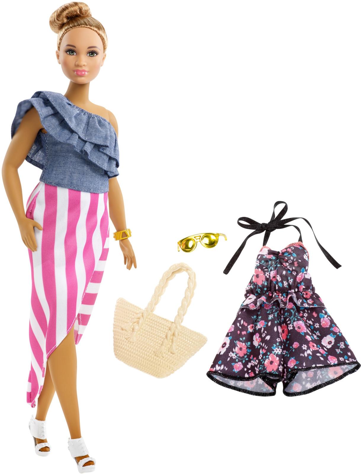 Кукла барби мода с аксессуарами