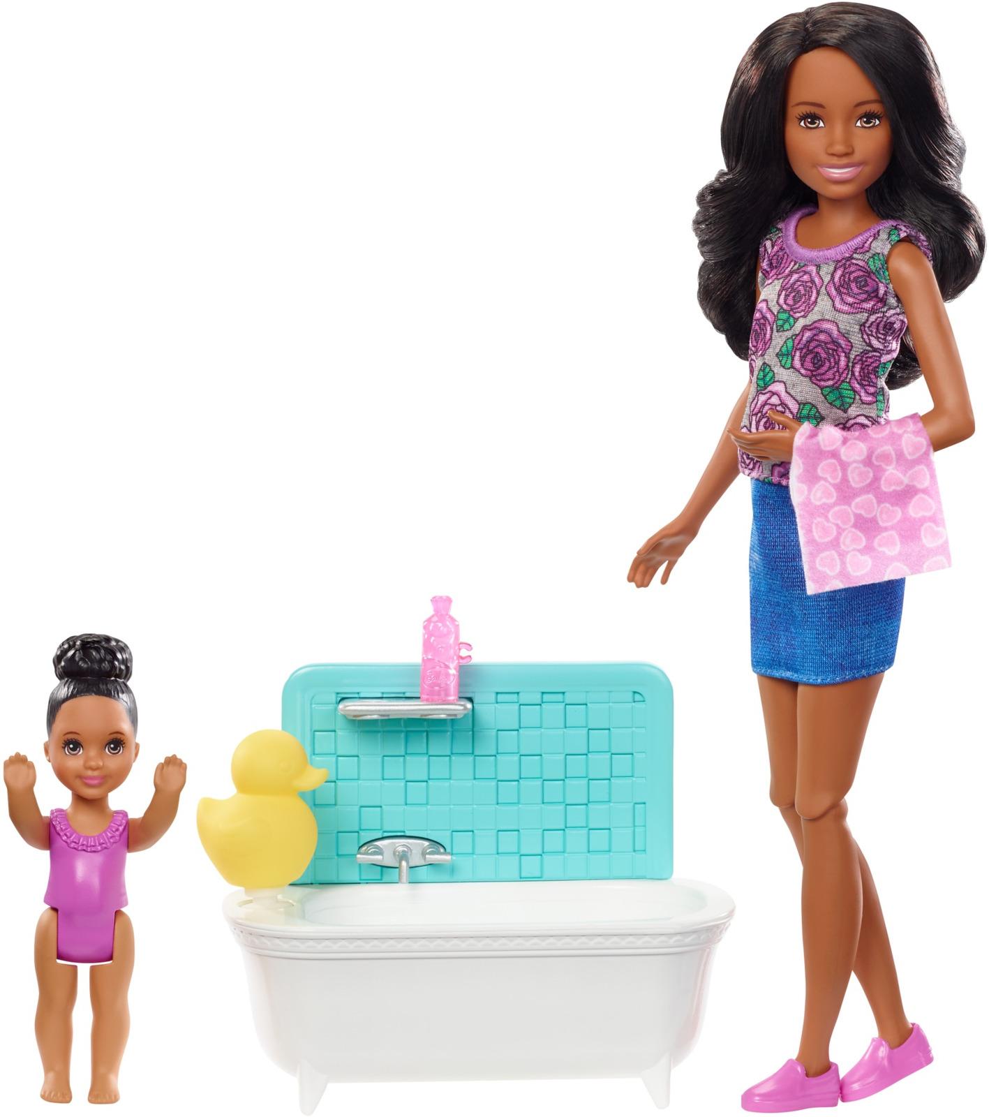 Игровой набор с куклой Barbie