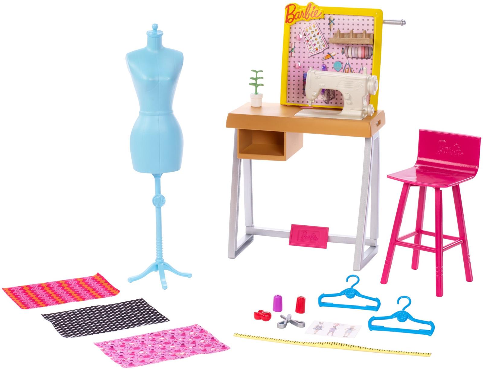 Barbie Игровой набор Студия дизайнера