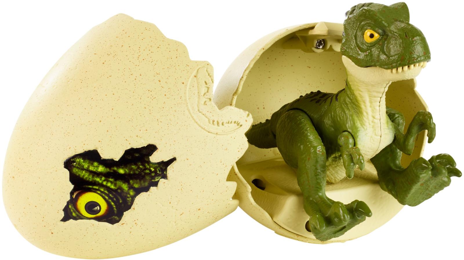 Фигурка Jurassic World Динозавр в яйце. GFN75 imaginext интерактивная игрушка jurassic world гигантский роботизированнй динозавр