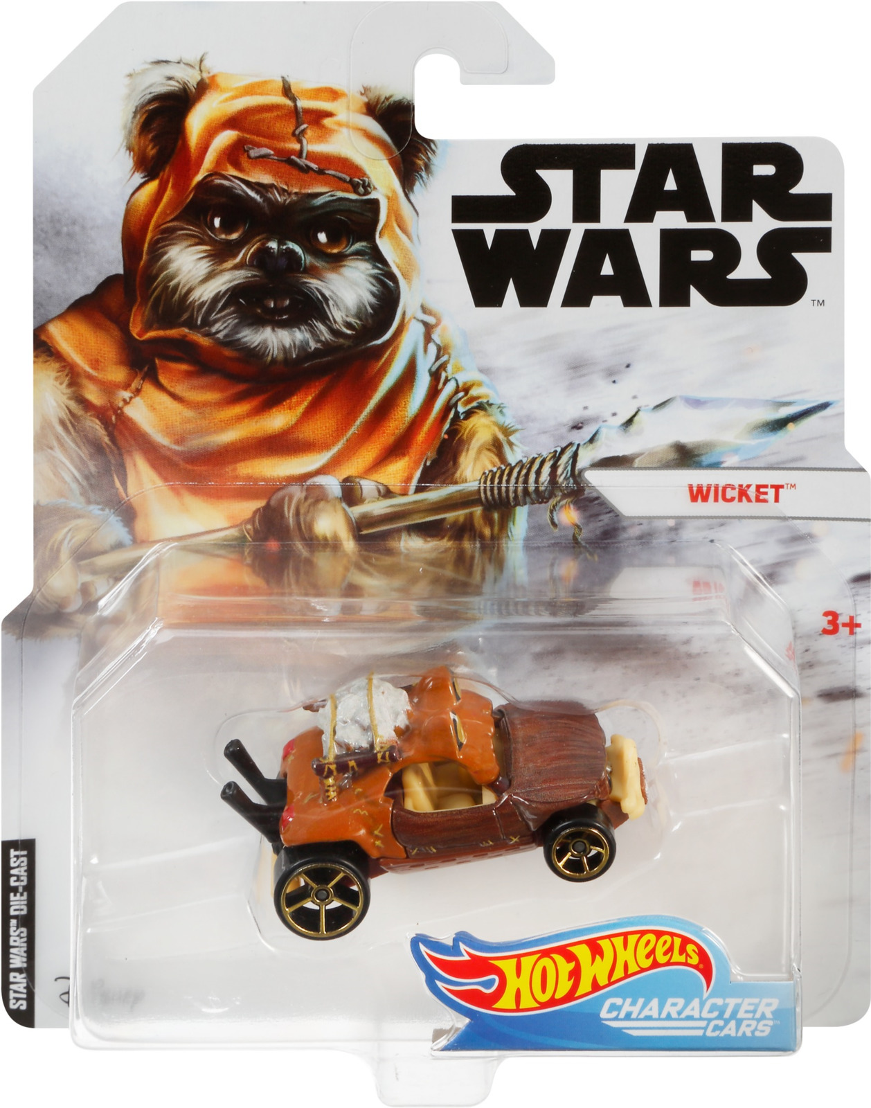 Hot Wheels Star Wars Машинка Lando Calrissian GDK58