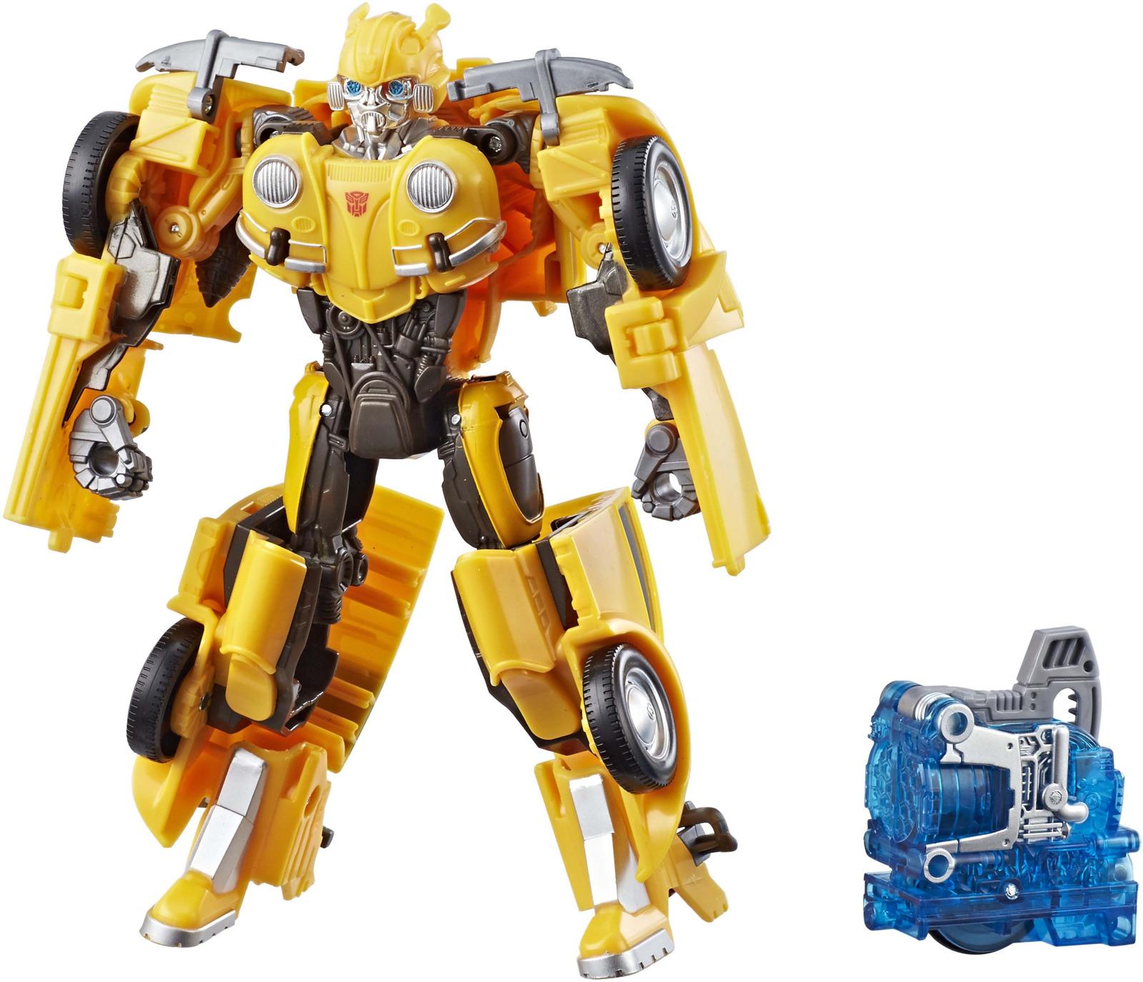 Игрушка-трансформер Transformers Bumblebee, 20 см. E0700_Е0763 автомобиль dickie трансформер bumblebee желтый 3113000