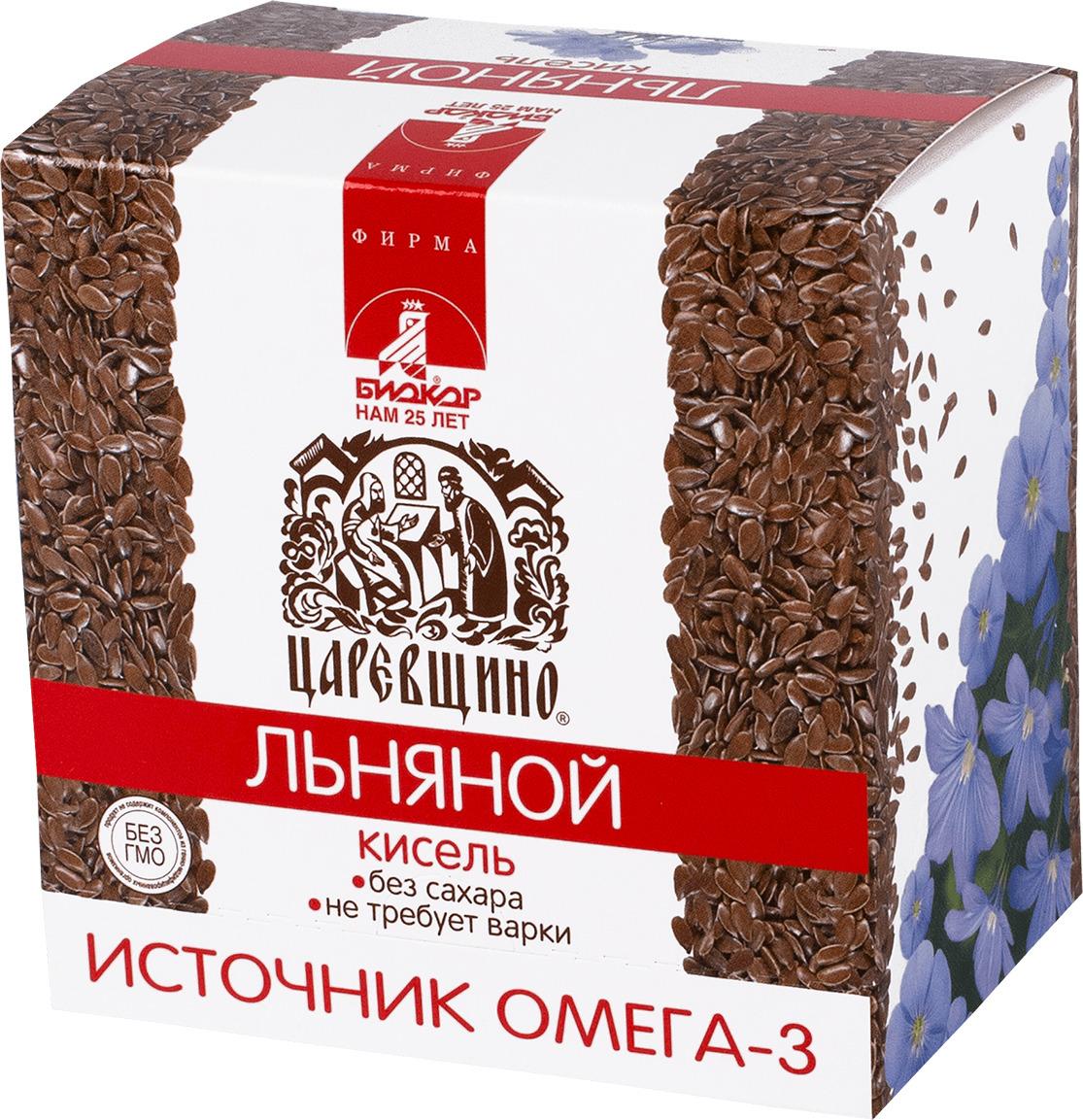 Кисель Биокор Царевщино льняной, 5 шт по 25 г