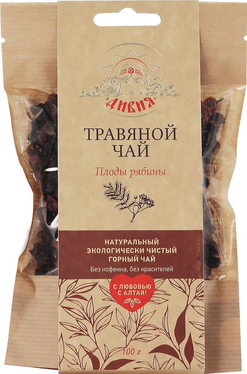 Чай травяной Дивия Рябина обыкновенная плоды 100 г Дивия