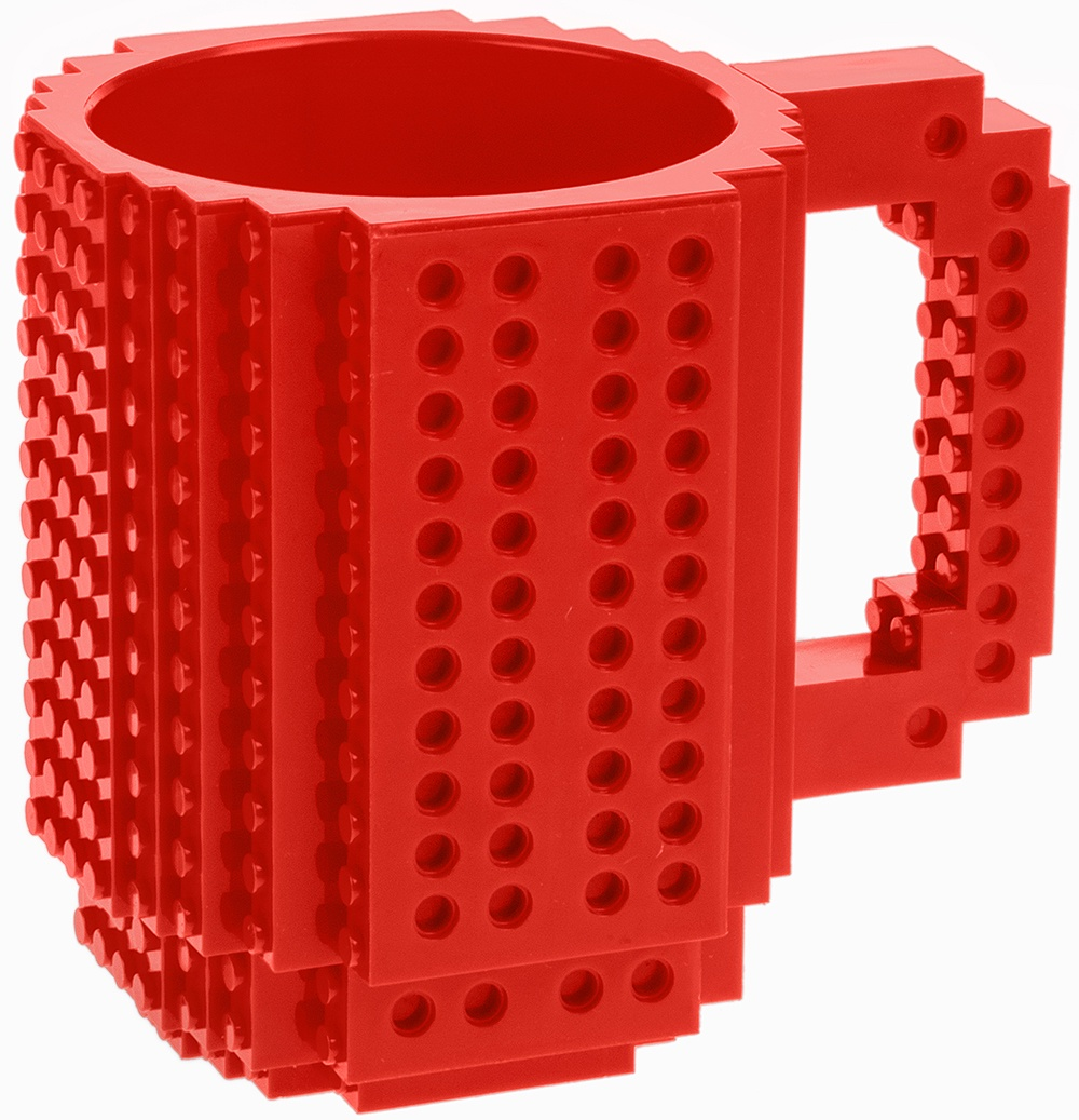 Кружка Red Cube Конструктор, красный new 8p0 941 699 a