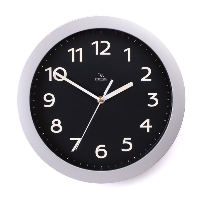 Настенные часы Вега 1серебро6212