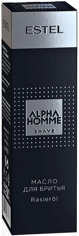 Масло для бритья ESTEL PROFESSIONAL ALPHA HOMME SHAVE 50 мл estel alpha homme набор масло для бритья гель для душа шампунь тонизирующий