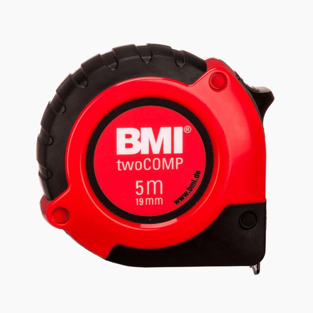 Карманная рулетка twoCOMP 5м с магнитом BMI 472541021M цены