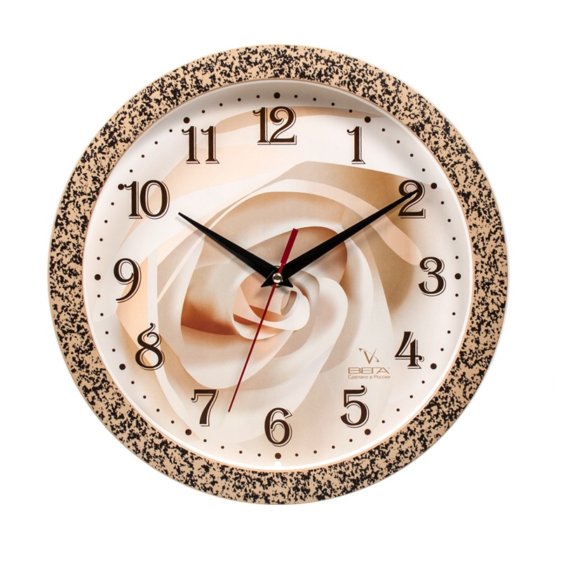 Настенные часы Вега 114927155 настенные часы вега 1666