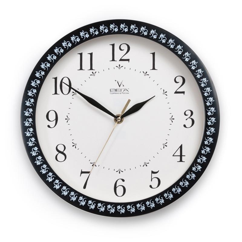 Настенные часы Вега 167127104 настенные часы вега 177250