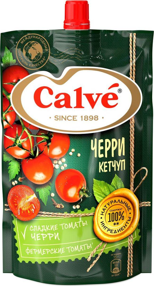 Кетчуп Calve С помидорами Черри, 350 г