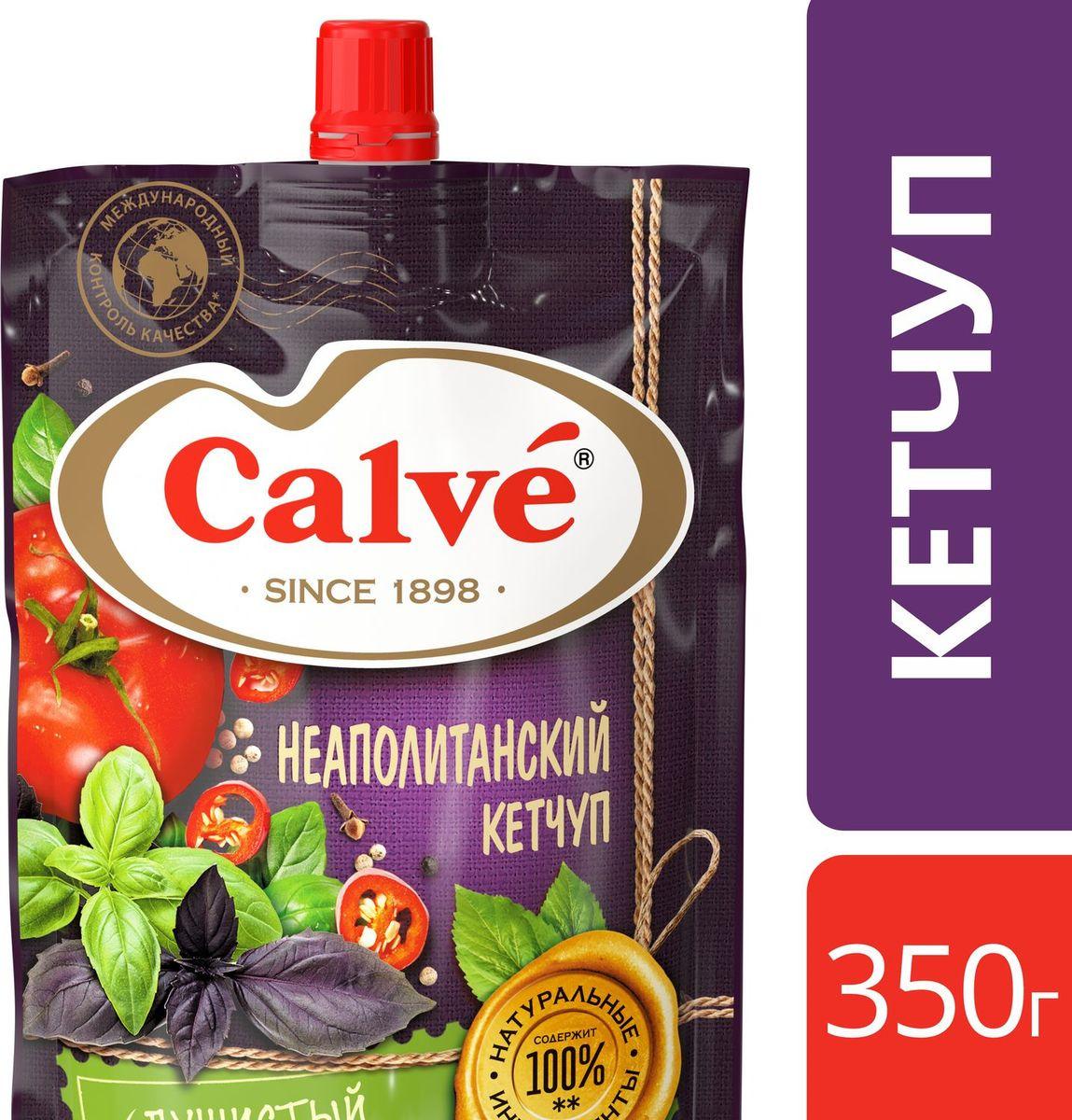 CalveКетчуп Неаполитанский, 350 г Calve