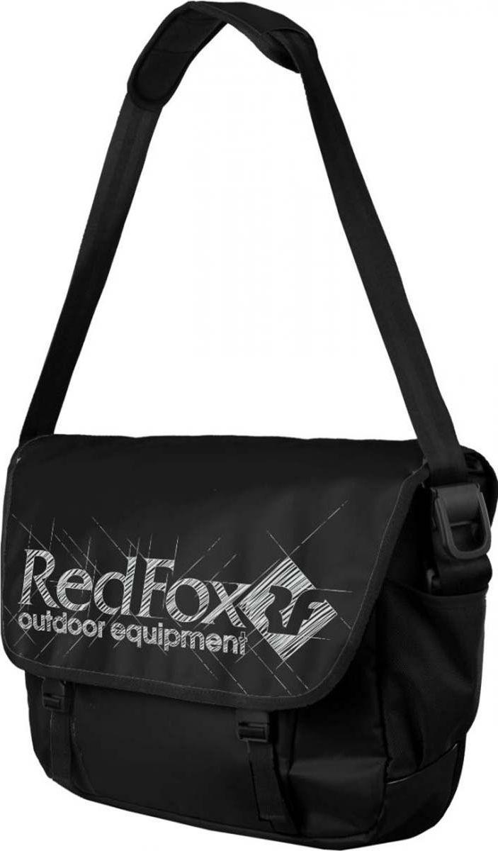 Сумка дорожная Red Fox Big Messenger, 1038748, черный, 30 л сумка fox bowler черный красный