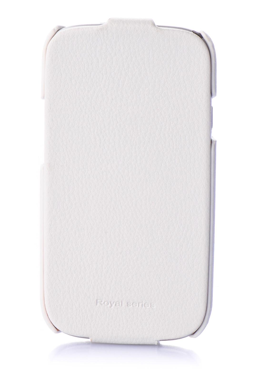 Чехол для сотового телефона Hoco Чехол книжка экокожа 380173 для Samsung S3, белый