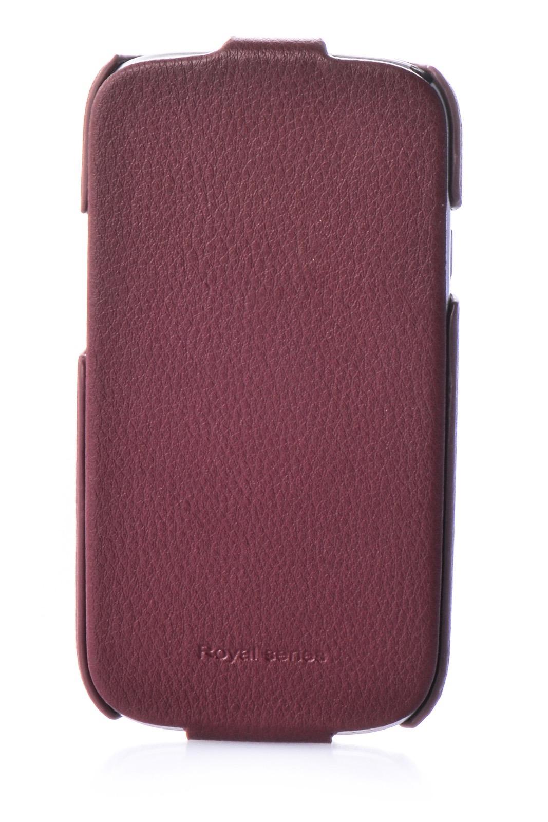 Чехол для сотового телефона Hoco Чехол книжка экокожа 380176 для Samsung S3, коричневый