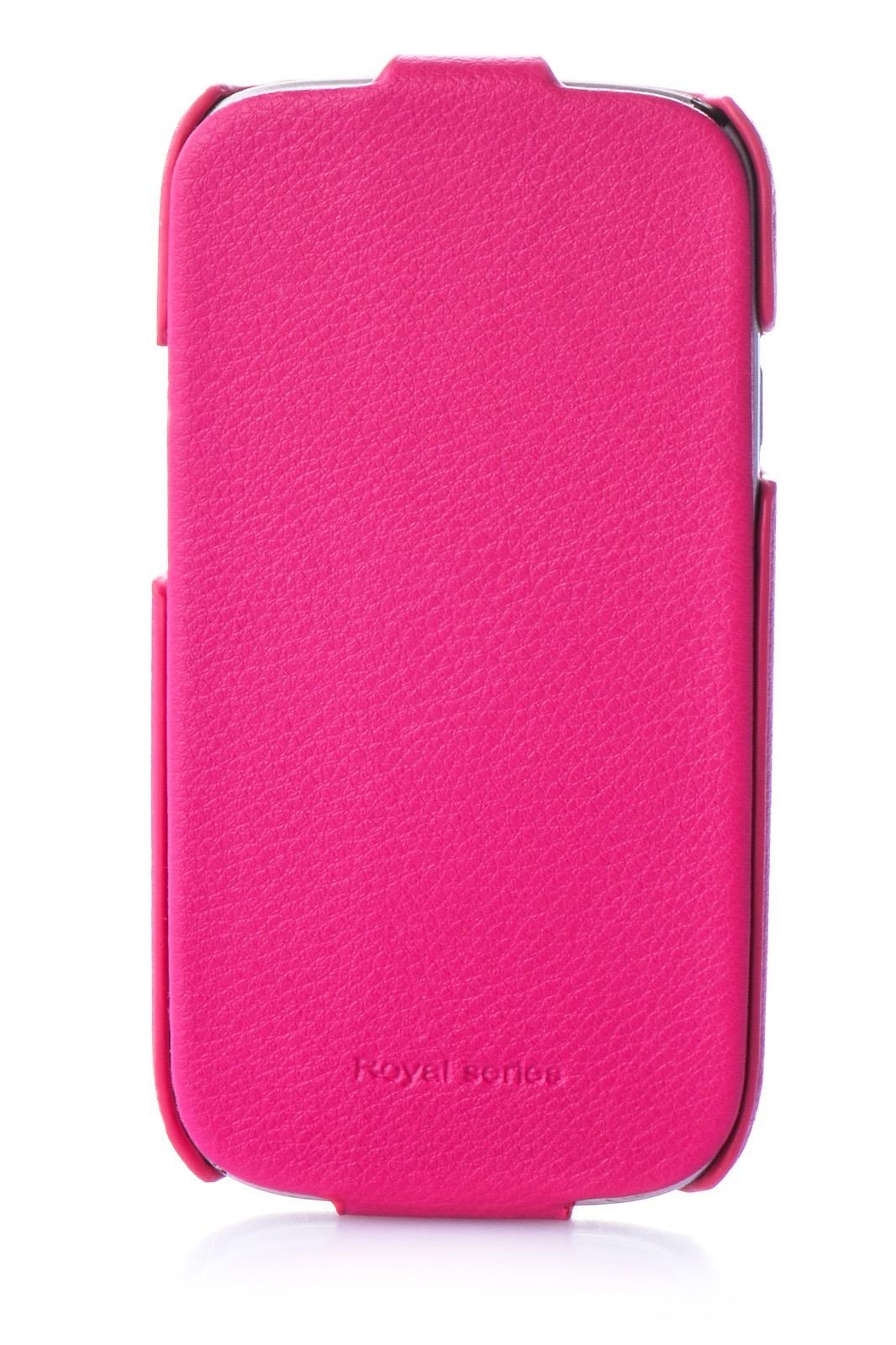 Чехол для сотового телефона Hoco Чехол книжка экокожа 380171 для Samsung S3, темно-розовый