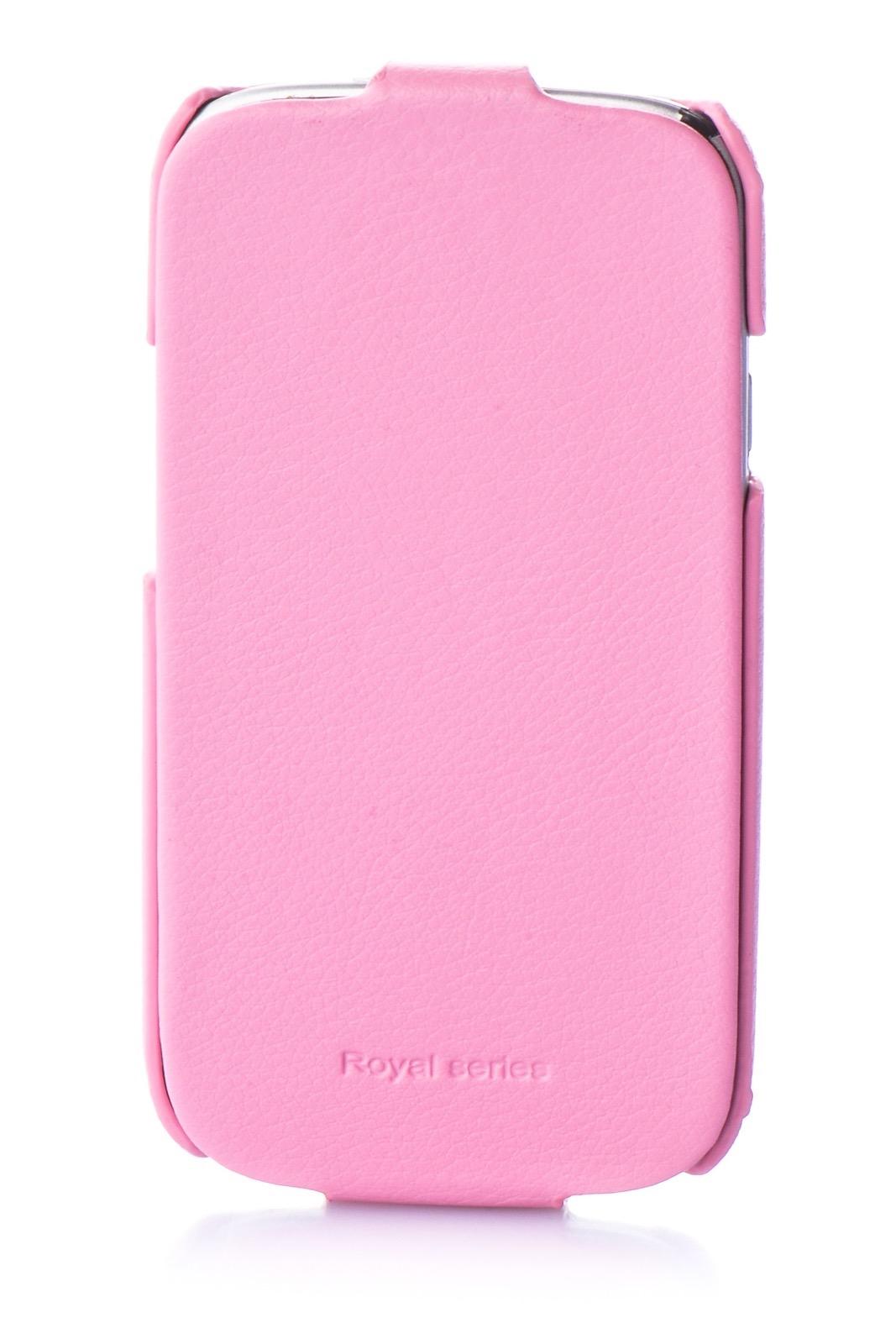 Чехол для сотового телефона Hoco Чехол книжка экокожа 380168 для Samsung S3, розовый