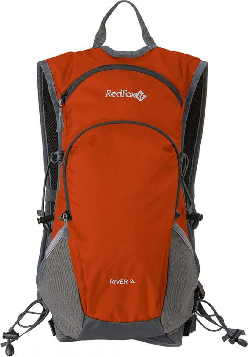 Рюкзак Red Fox River 2L, 1046729, оранжевый, 2 л карабин red fox mr 3006 цвет оранжевый
