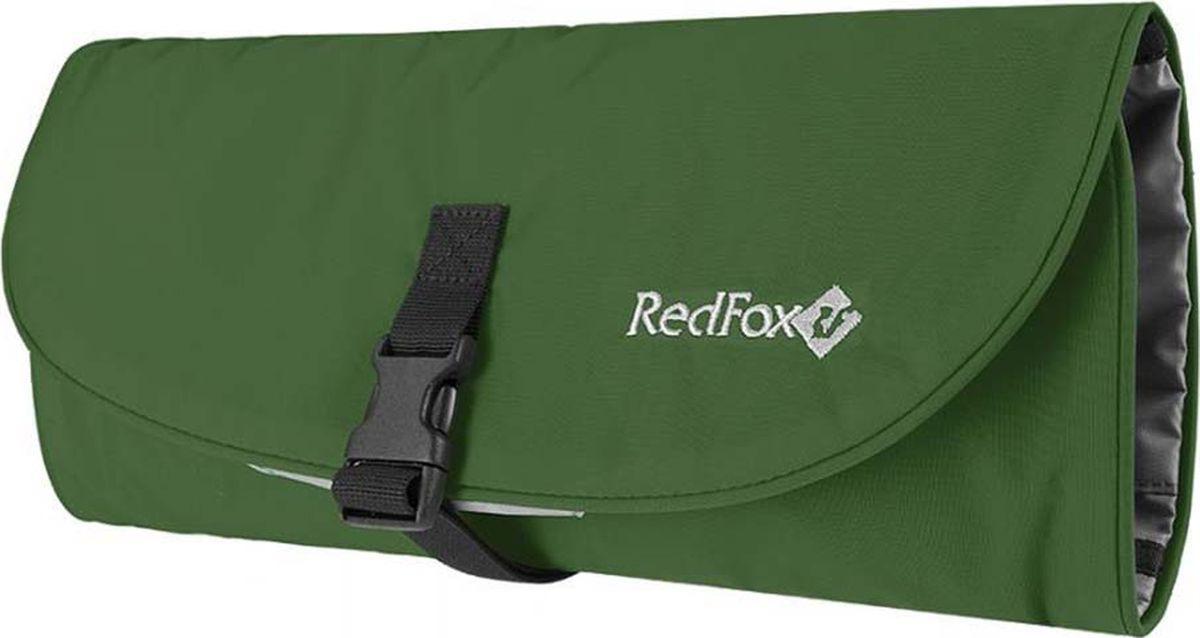 Дорожная косметичка Red Fox Cosmetic 4, 1038814, темно-зеленый, 22 х 11 х 11 см цена и фото