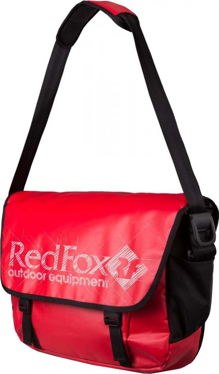 Сумка дорожная Red Fox Big Messenger, 1038748, красный, 30 л сумка fox bowler черный красный