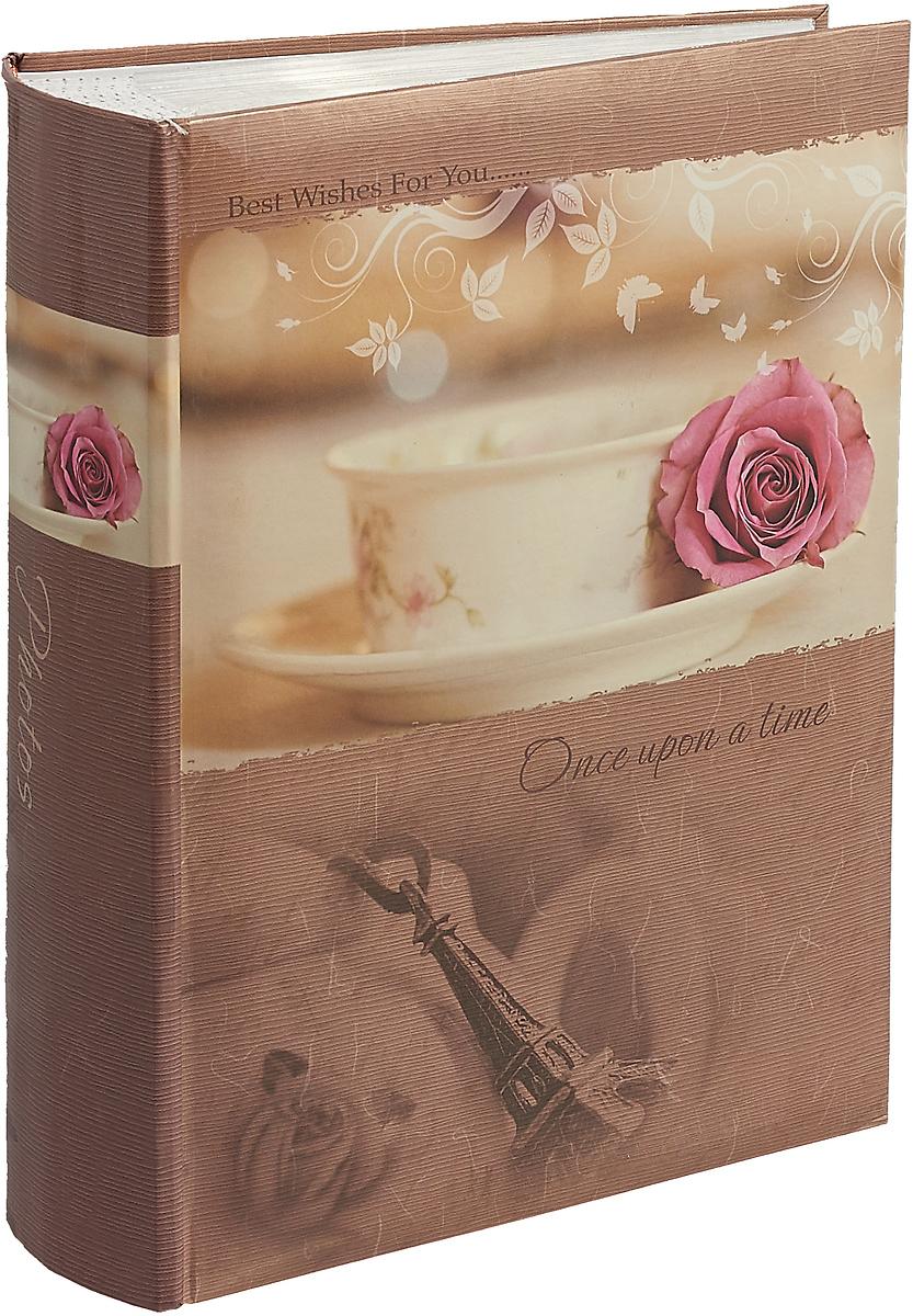 Фотоальбом Platinum Классика, 300 фотографий, цвет: светло - бежевый, розовый, 10 x 15 см фотоальбом platinum классика love 200 фотографий 10 x 15 см