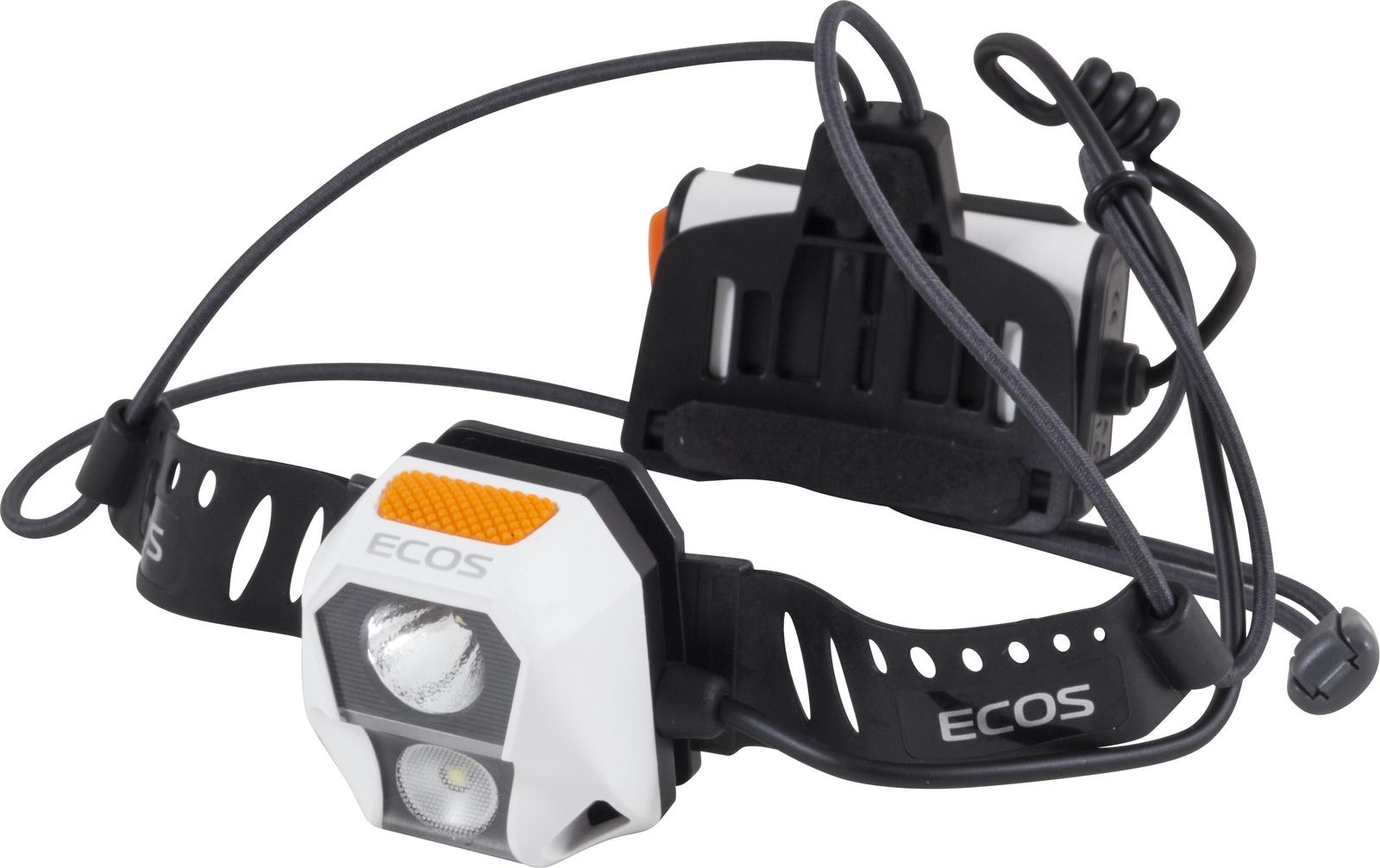 Налобный фонарь Ecos FLHB6008, белый, черный налобный фонарь ecos flhb6008 белый черный