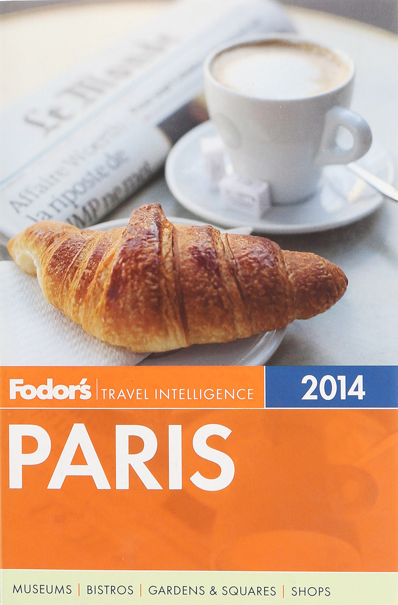 Paris 2014: Full-Color Travel Guide