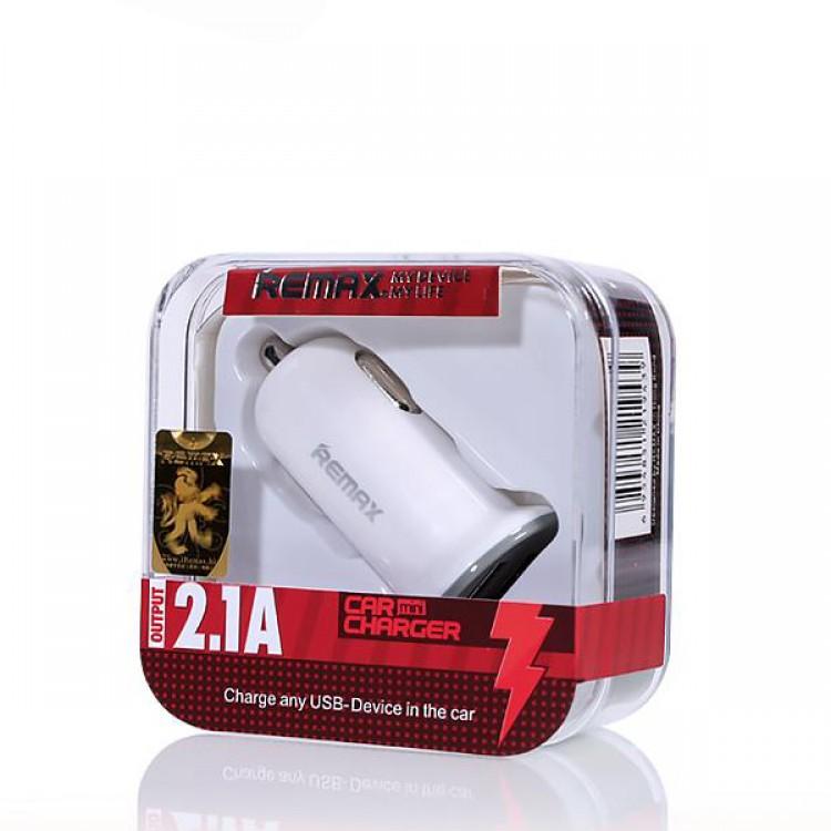 Автомобильное зарядное устройство REMAX RCC-201 mini, белый зарядное устройство hentington 2xusb 1000 ma 2100 ma hc 2122
