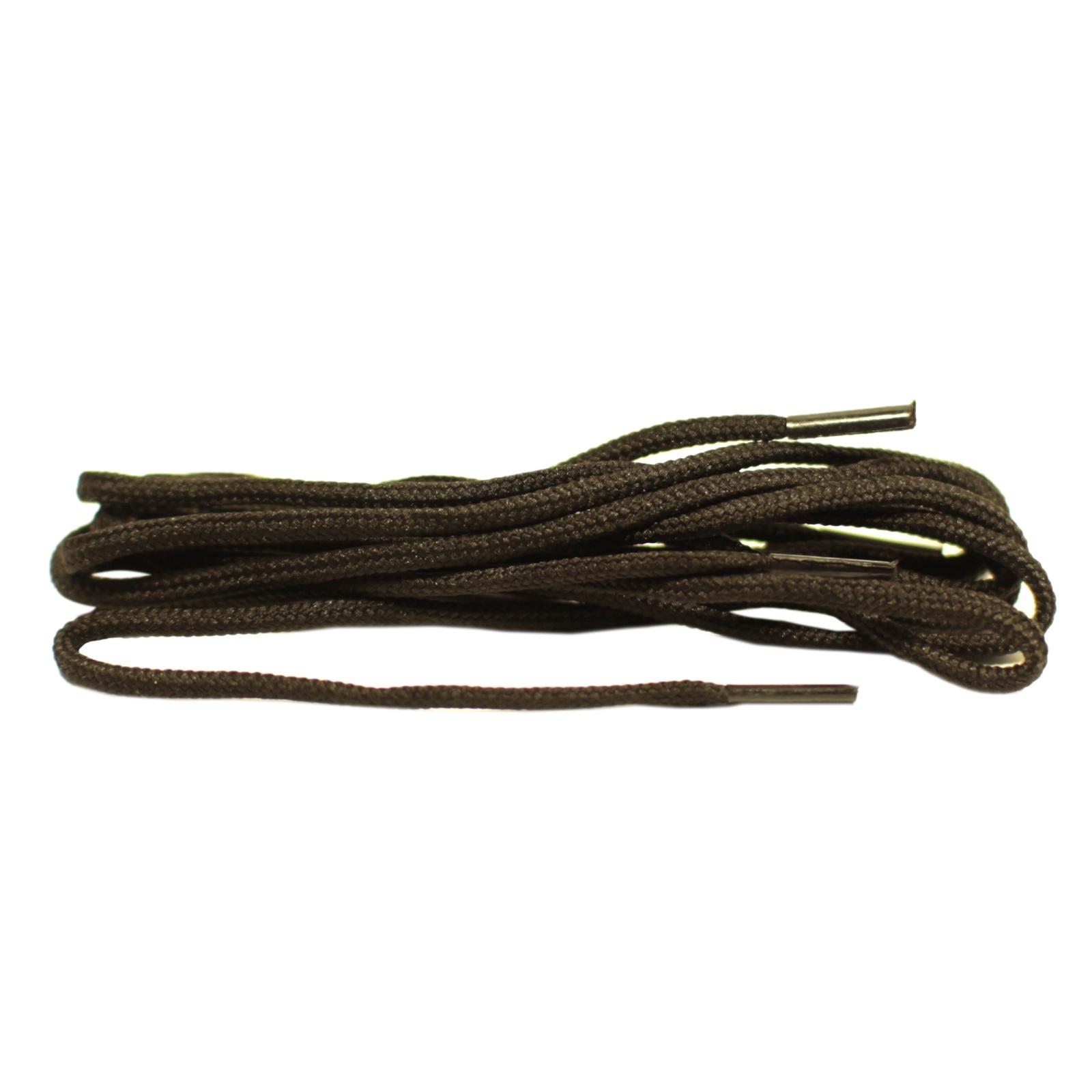 Шнурки Шнурком В854 круглые 3мм 75см, черный шнурки для обуви радуга active усиленные круглые с наполнителем цвет белый 110 см