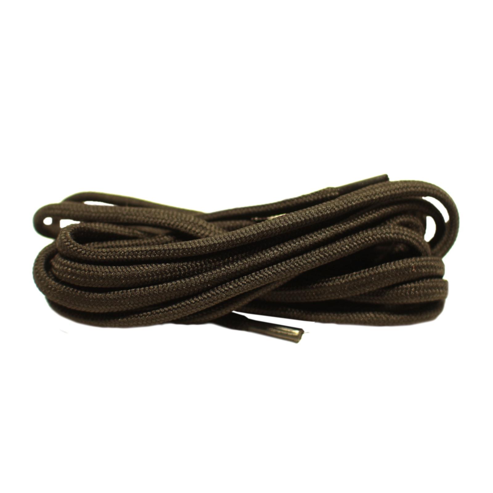 Шнурки Шнурком В865 круглые 6мм 120см, черный шнурки для обуви радуга active усиленные круглые с наполнителем цвет белый 110 см