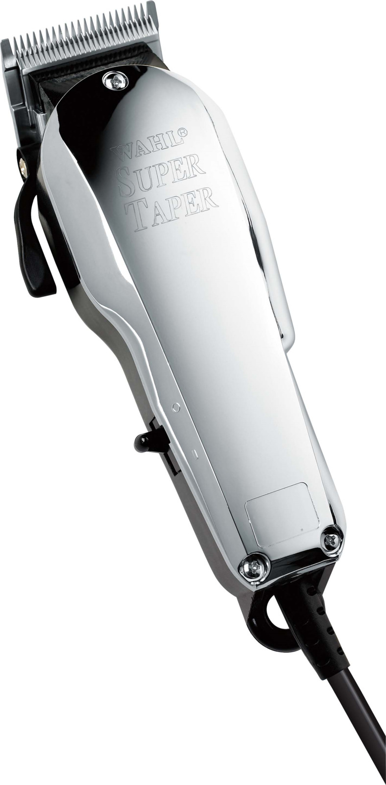 Машинка для стрижки Wahl Super Taper Chrome 8463-316H (4005-0472), серебристый машинка для стрижки wahl show pro с ножом на винтах