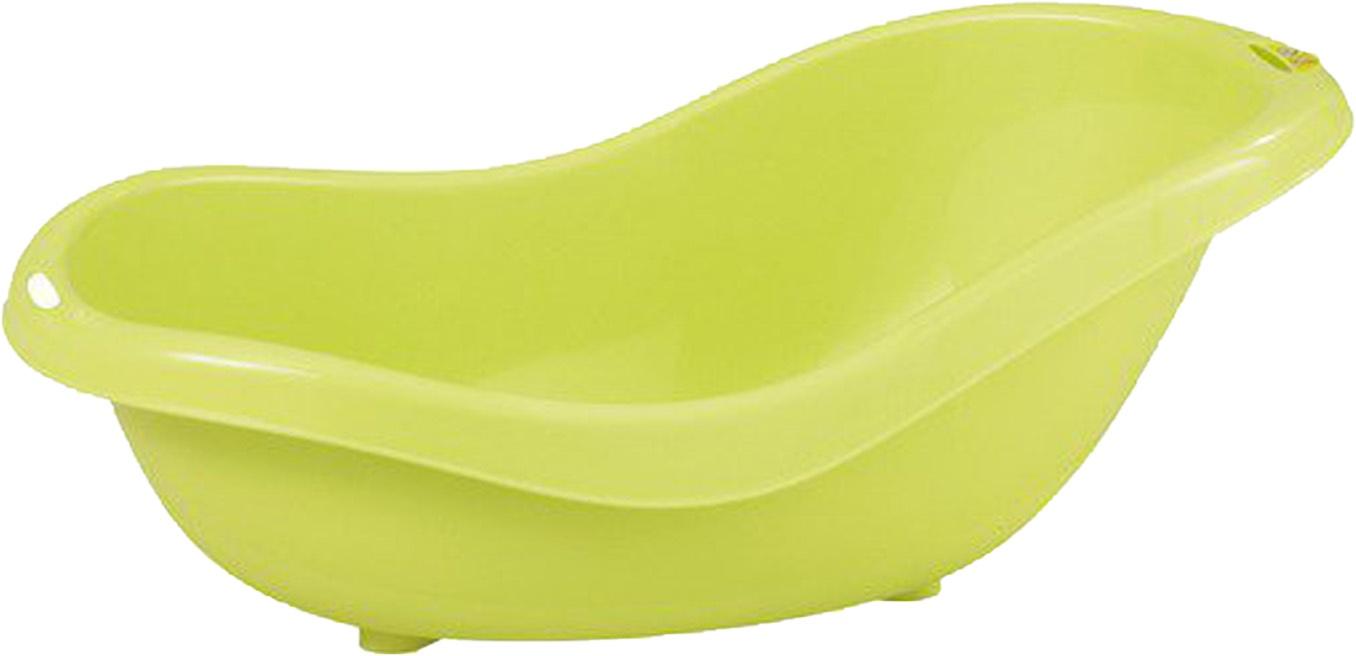 детские ванночки bebe jou ванночка для купания 6256 Детская ванна Bebe Confort со сливным отверстием салатовый
