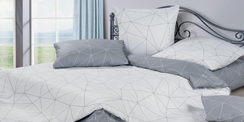 Комплект постельного белья Ecotex Мальберри, серый цена и фото