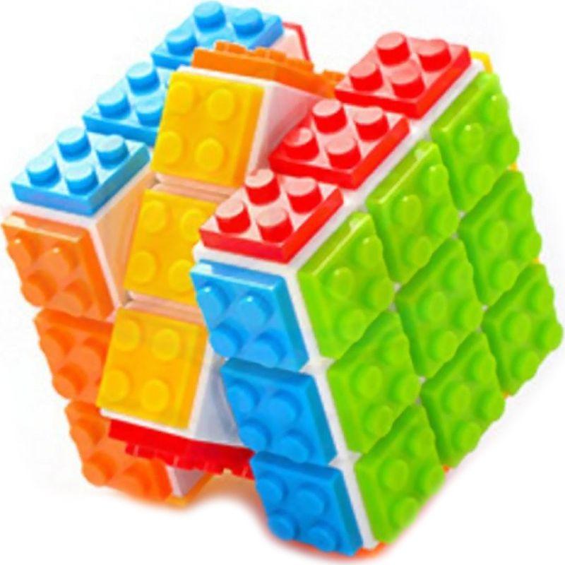 Головоломка PlayLab Кубик-конструктор Diy Cube, FX7780, белый