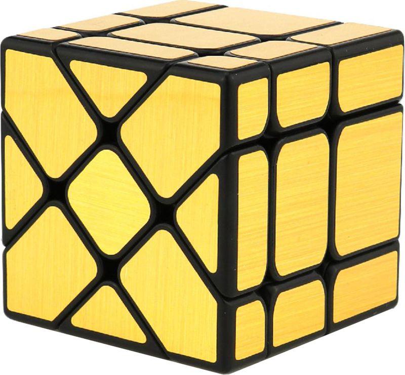 Головоломка PlayLab Зеркальный Кубик Фишер, MC581-5.7P-1, золотистый