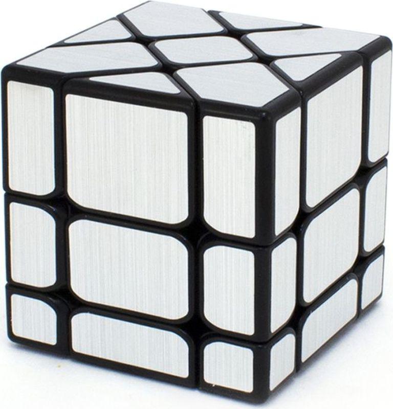 Головоломка PlayLab Зеркальный Кубик Фишер, MC581-5.7P, серебристый