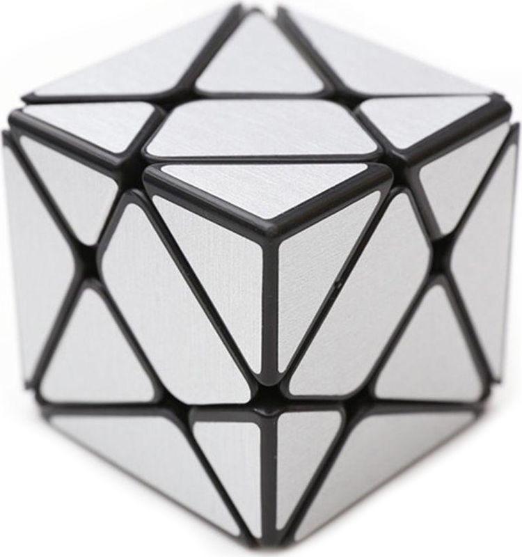 Головоломка PlayLab Зеркальный Кубик Трансформер, MC581-5.7R, серебристый