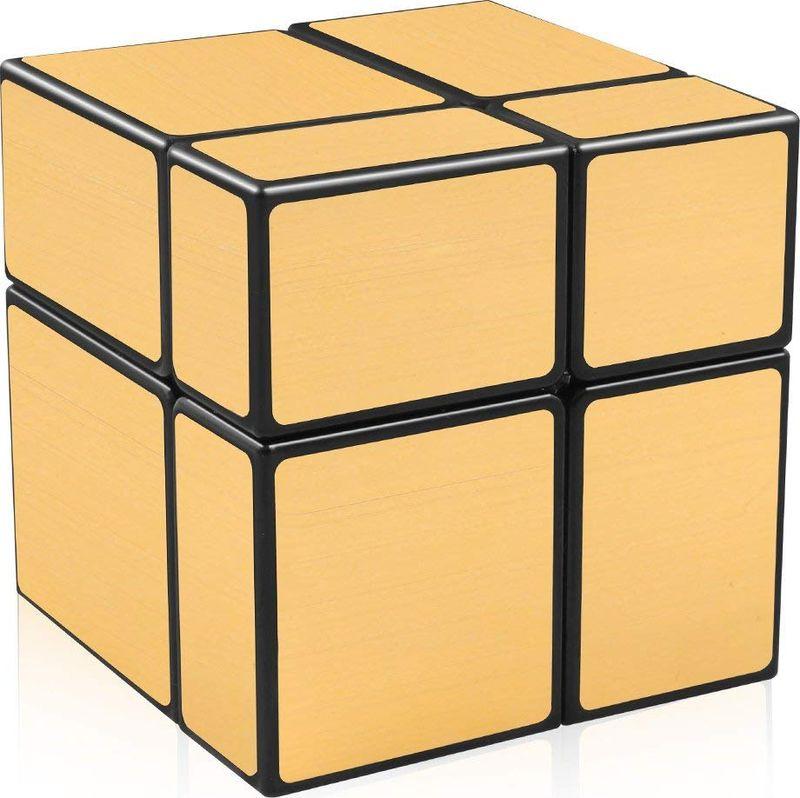 Головоломка PlayLab Зеркальный Кубик, MCFX7721-1, золотистый