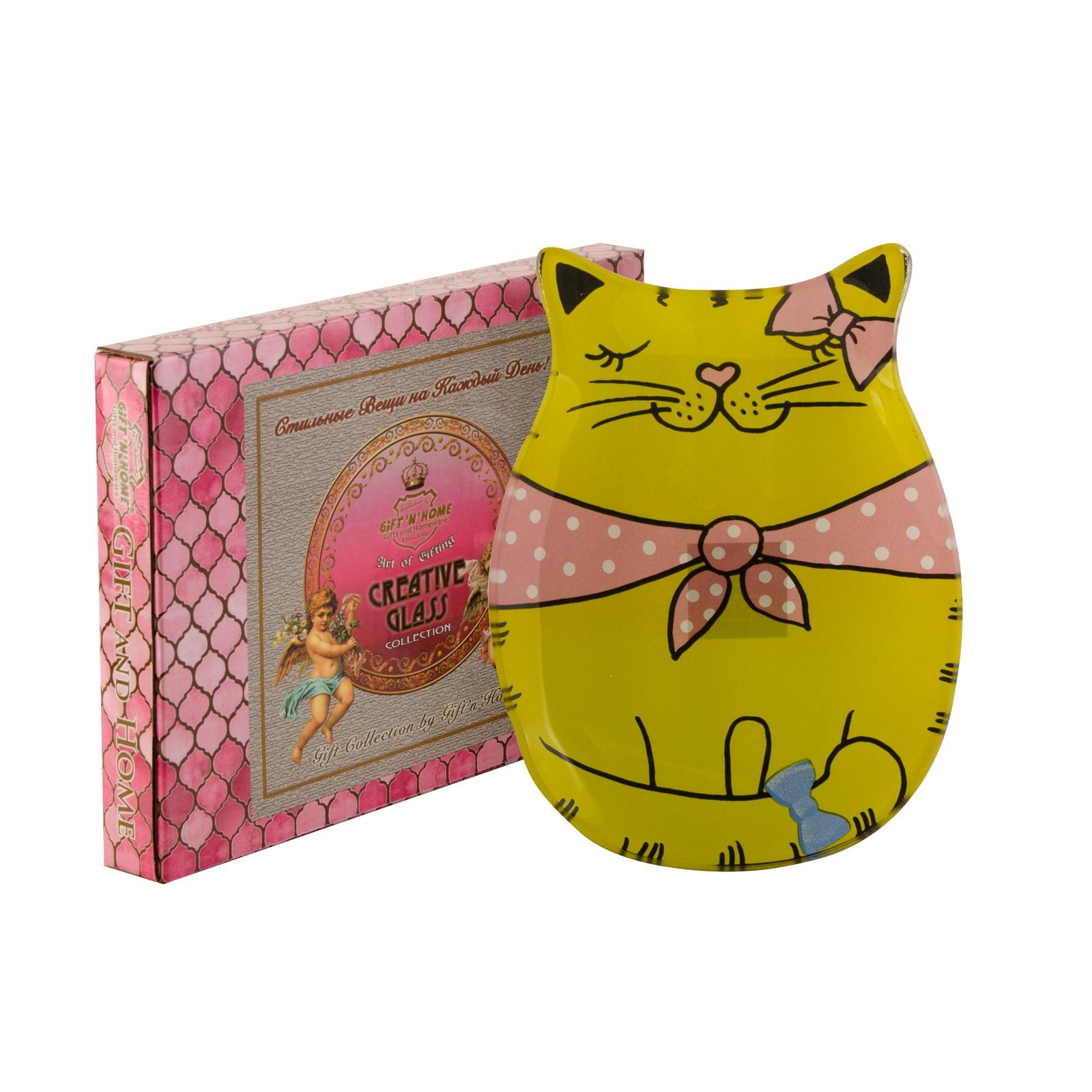 Тарелка десертная Gift'n'home PL-16 Kitty Girl