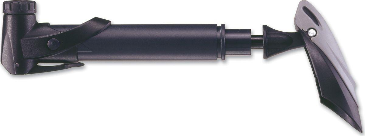 Велосипедный насос Giyo, ручной, 97-GP, черный, длина 20 см