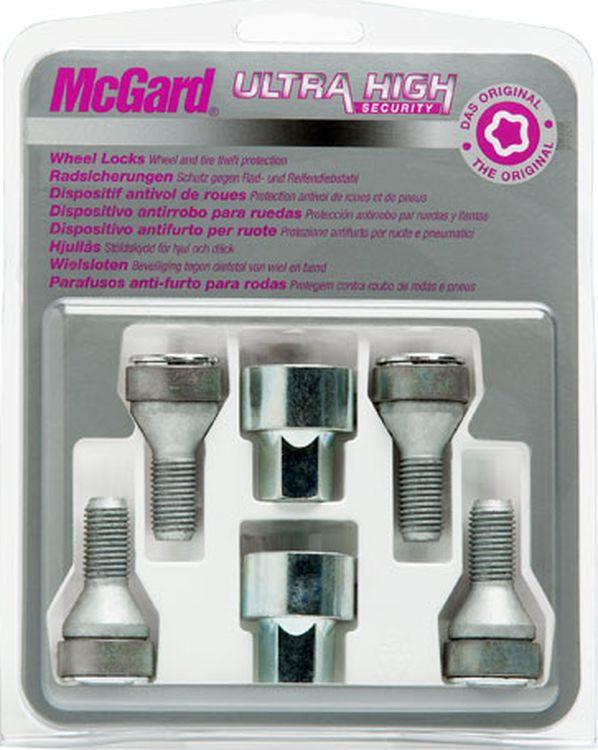 Секретки для колесных дисков McGard с 2 ключами, 37279 SL belt style car hood deco graphics decoration sticker for mini cooper r50 r52 r53 r55 r56 r57 r58 r59 r60 r61 f55 f56 f54 f60