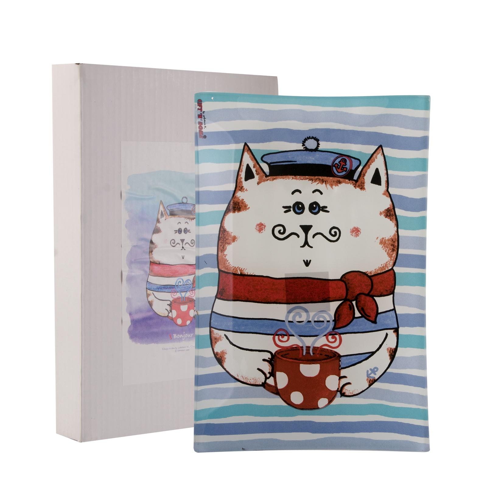 Тарелка десертная Gift'n'home PL-22 Dandy Cat