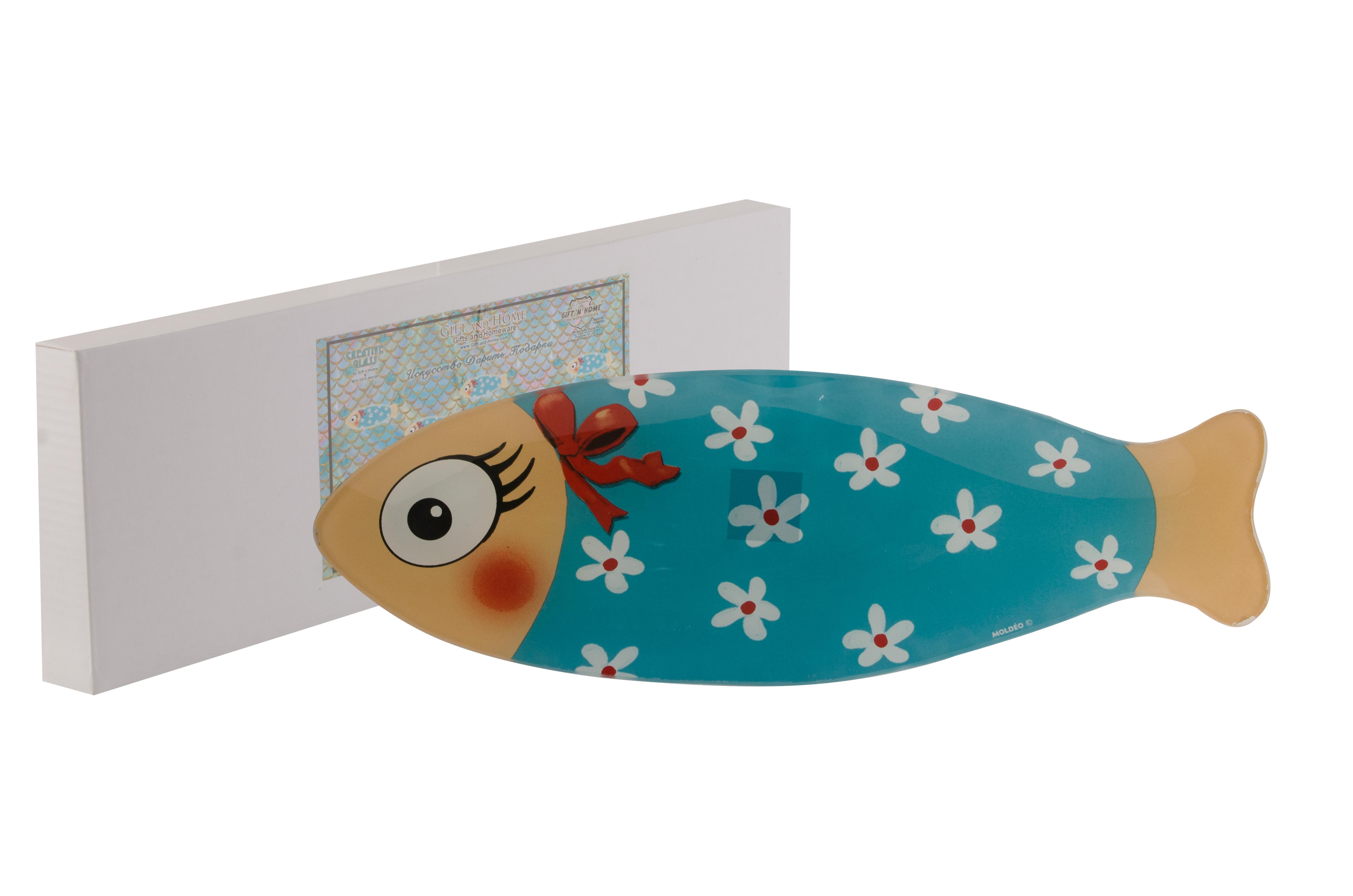 Тарелка десертная Gift'n'home PL-33 Pretty Fish