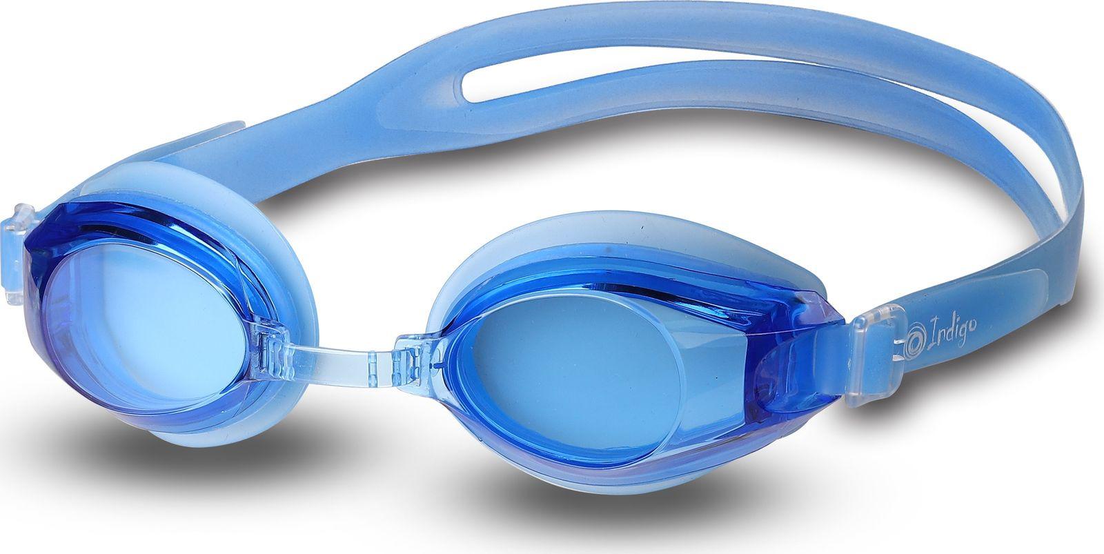 Очки для плавания Indigo, 113 G, синий