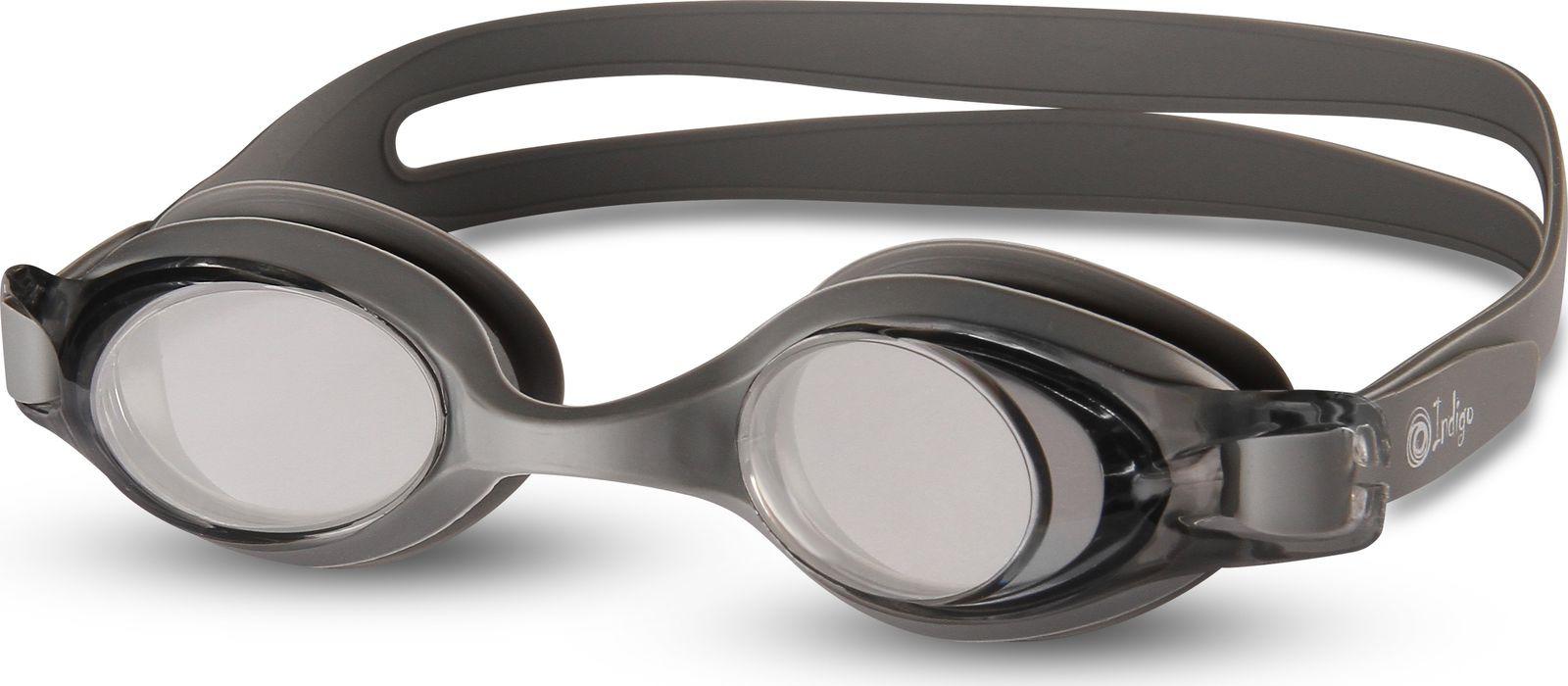 Очки для плавания Indigo, 812 G, серый812 GДля того, чтобы человек видел нормально (а не мутно) в воде, между глазом и водой должна быть воздушная прослойка Именно такую прослойку и создают очки для бассейна - один из обязательных элементов экипировки пловца Данная модель отлично подойдет как мужчинам так и женщинам Очки для плавания INDIGO G800 имеют мягкий раздвоенный силиконовый ремешок с легкой регулировкой под необходимый размер Антизапотевающее покрытие Antifog Нерегулируемая переносица Линзы: поликарбонат Оправа: силикон