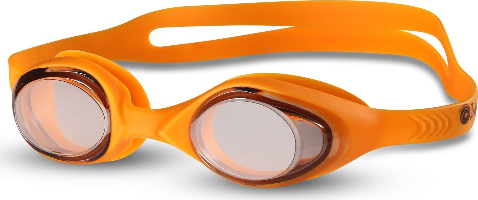 Очки для плавания детские Indigo, G6106, оранжевый