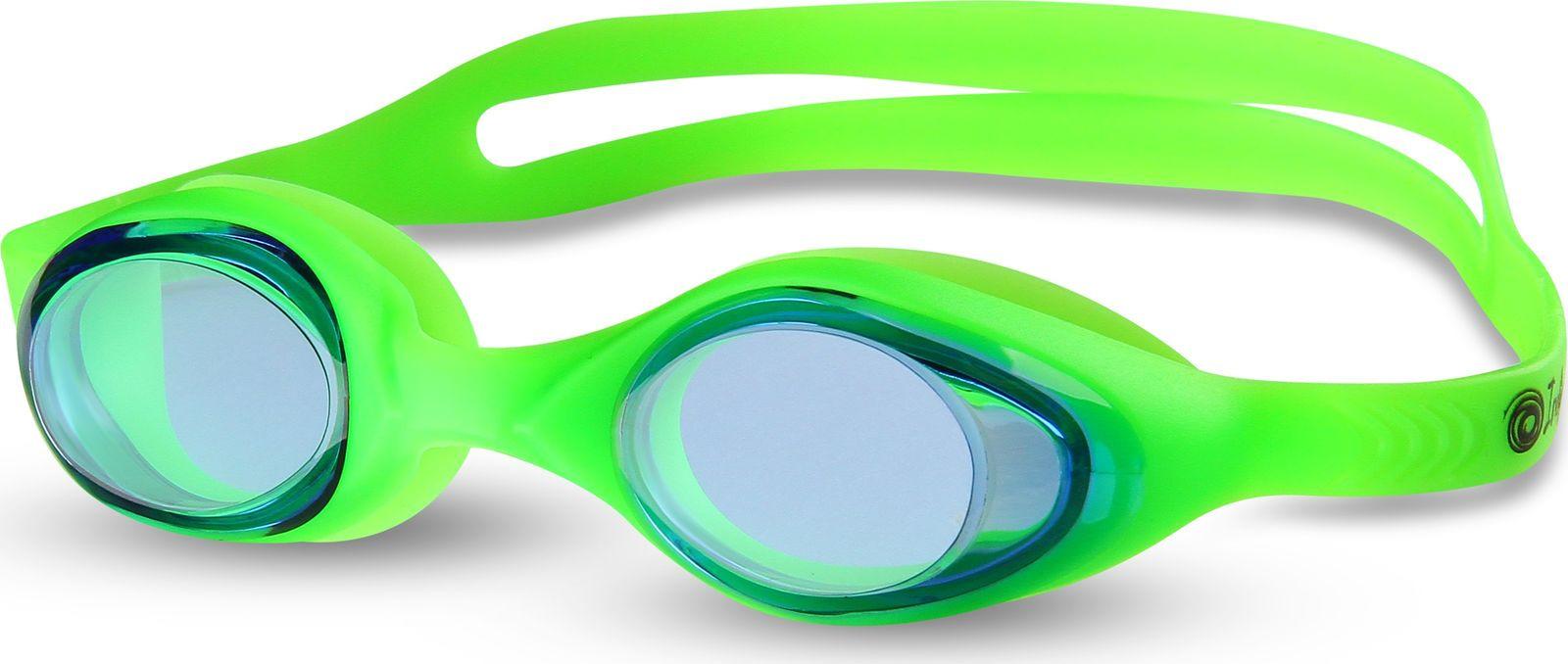 Очки для плавания детские Indigo, G6113, зеленый